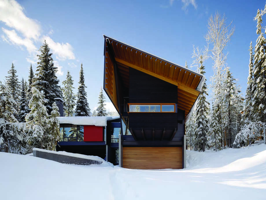 Merit Award: Kicking Horse Residence, Golden, B.C.; architect, Bohlin Cywinski Jackson. Photo: Courtesy American Institute Of Architects Northwest And Pacific Region/Bohlin Cywinski Jackson