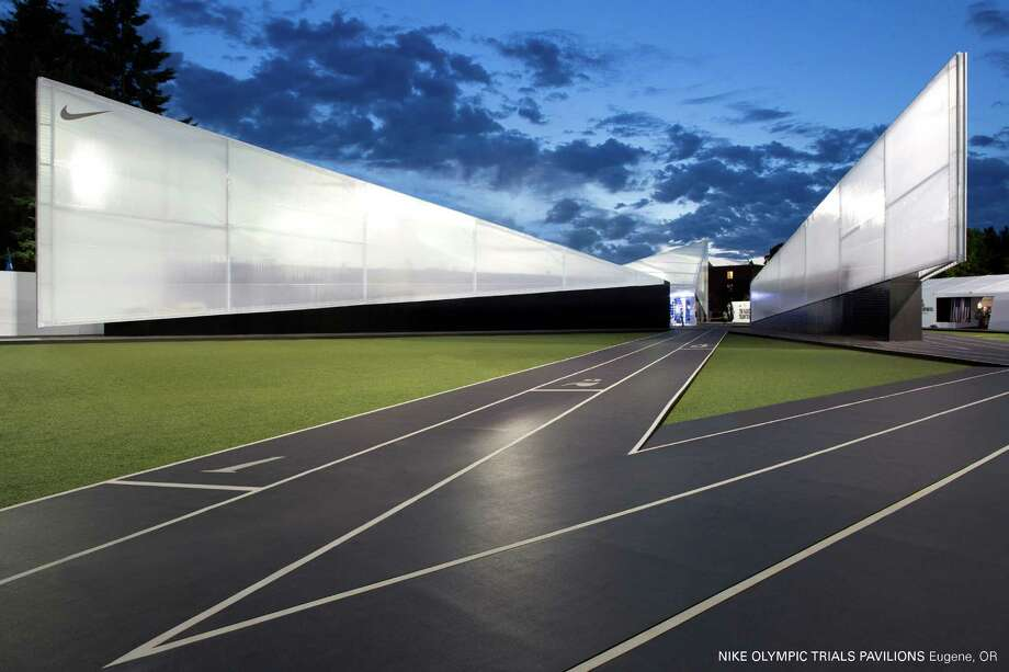 Citation: Nike Olympic Trials Pavilion, Eugene, Ore., Skylab Architecture. Photo: Courtesy American Institute Of Architects Northwest And Pacific Region/Skylab Architecture
