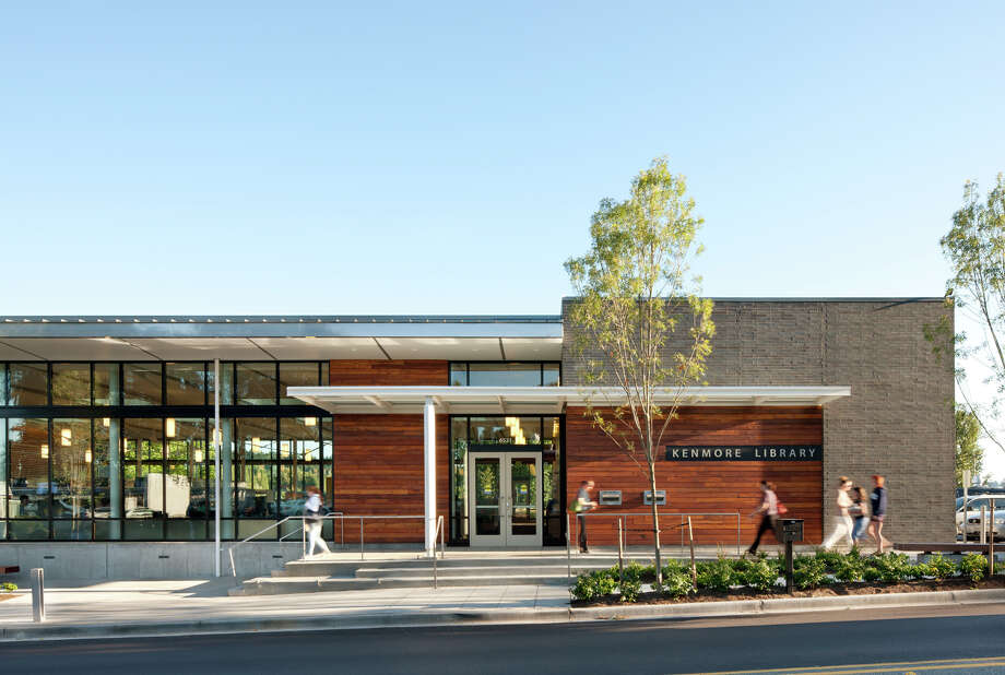 Citation: Kenmore Library, Kenmore., Weinstein A|U  Architects + Urban Designers. Photo: Courtesy American Institute Of Architects Northwest And Pacific Region/Weinstein A|U  Architects + Urban Designers