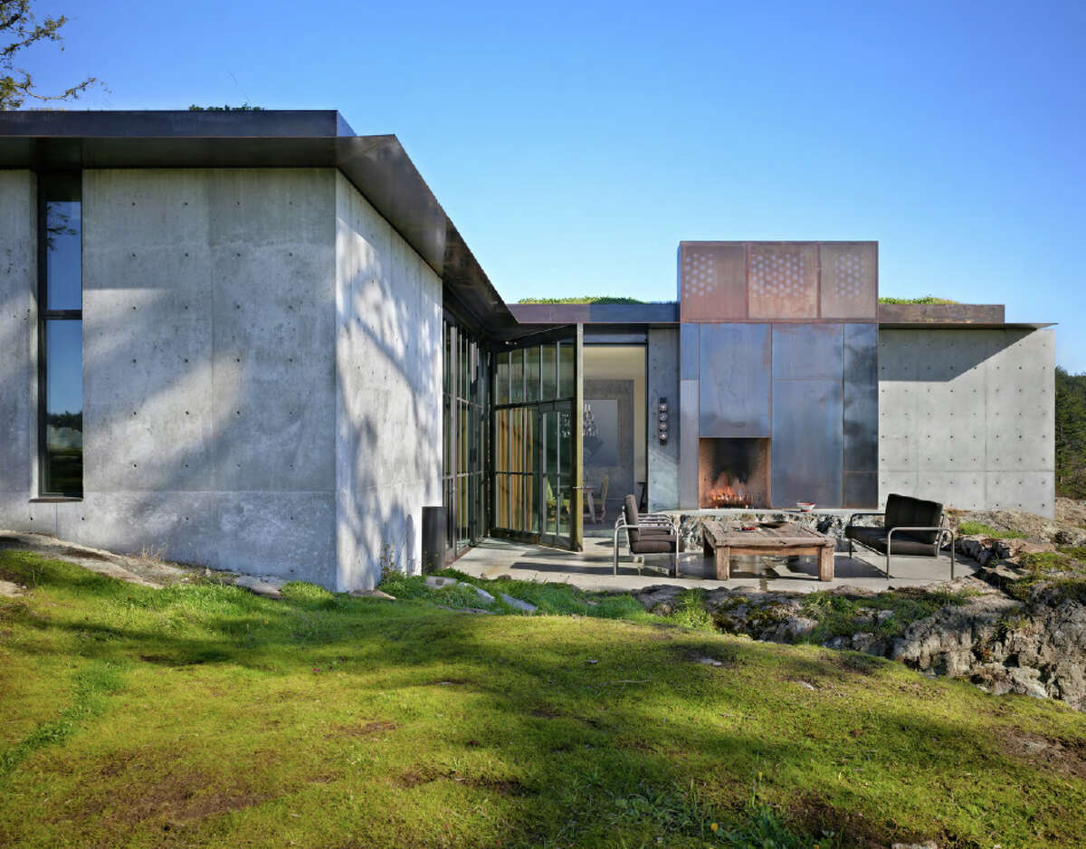 Honor Award: The Pierre, a residence in the San Juan Islands, designed by Olson Kundig Architects of Seattle.