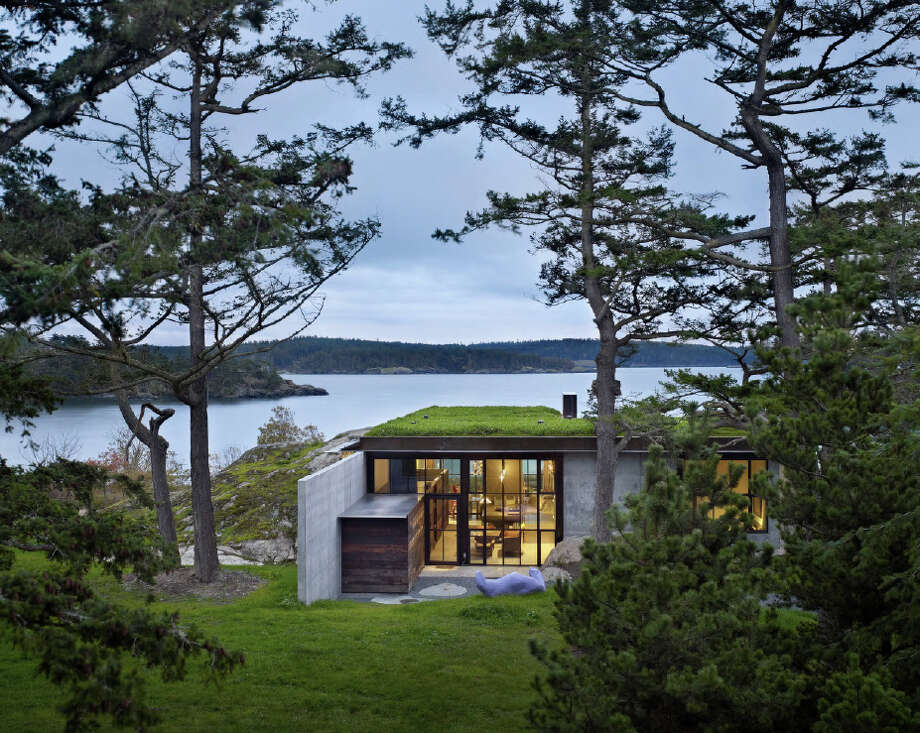 Honor Award: The Pierre, a residence in the San Juan Islands, designed by Olson Kundig Architects of Seattle. Photo: Courtesy American Institute Of Architects Northwest And Pacific Region/Olson Kundig Architects