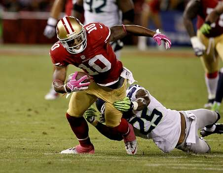 Kyle Williams had a nice run in the fourth quarter. The San Francisco 49ers beat the Seattle Seahawks 13-6 in San Francisco, Calif at Candlestick Park, Photo: Brant Ward, The Chronicle