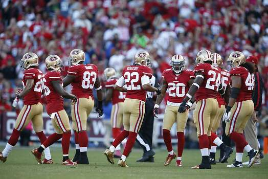 The San Francisco 49ers played the Seattle Seahawks at Candlestick Park in San Francisco, Calif., on Thursday October 18, 2012. Photo: Beck Diefenbach, Special To The Chronicle