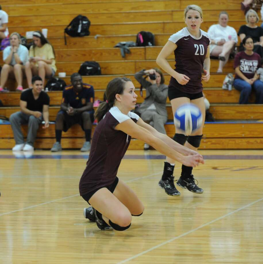 Cinco Ranch's Shelby Cielencki has been key for the Lady Cougars this season. Photo: Eddy Matchette / Freelance