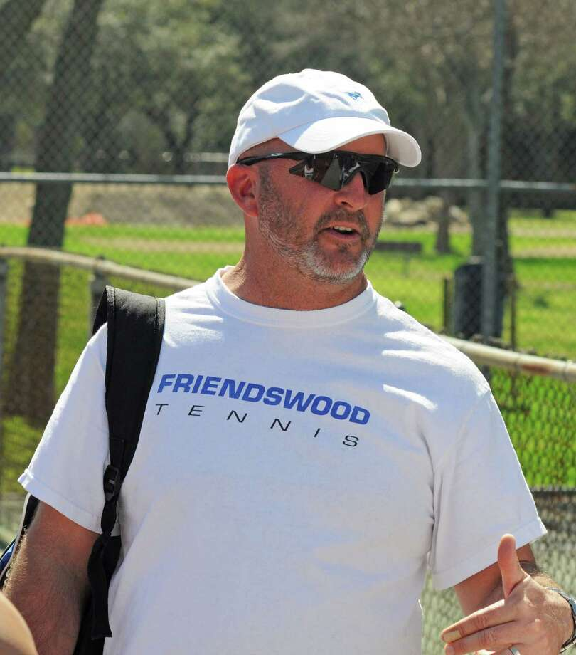 Friendswood tennis coach David Cook Photo: L. Scott Hainline