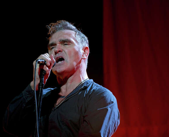 Morrissey performing at Palace Theatre, Albany, NY, on October 18 2012 (Barbara D. Livingston / Special to the Times Union)