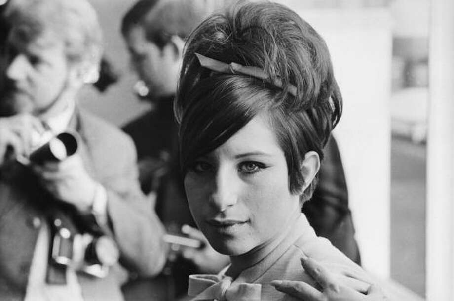 """Barbra Streisandwas famous for """"Funny Girl"""" in the '60s, but continued with a series of screwball comedies in the '70s and one of her most famous movies, """"The Way We Were."""" She's pictured in 1966.  Photo: Terry Fincher, Getty Images / Hulton Archive"""