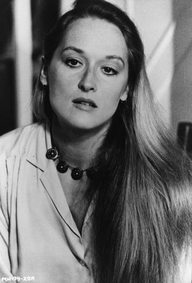 "Meryl Streepbegan her long, storied career in the '70s, making her film debut in ""Julia."" She then starred in ""The Deer Hunter"" (1978) and ""Kramer vs. Kramer"" (197), for which she won her first Academy Award.  Photo: Keystone, Getty Images / Hulton Archive"