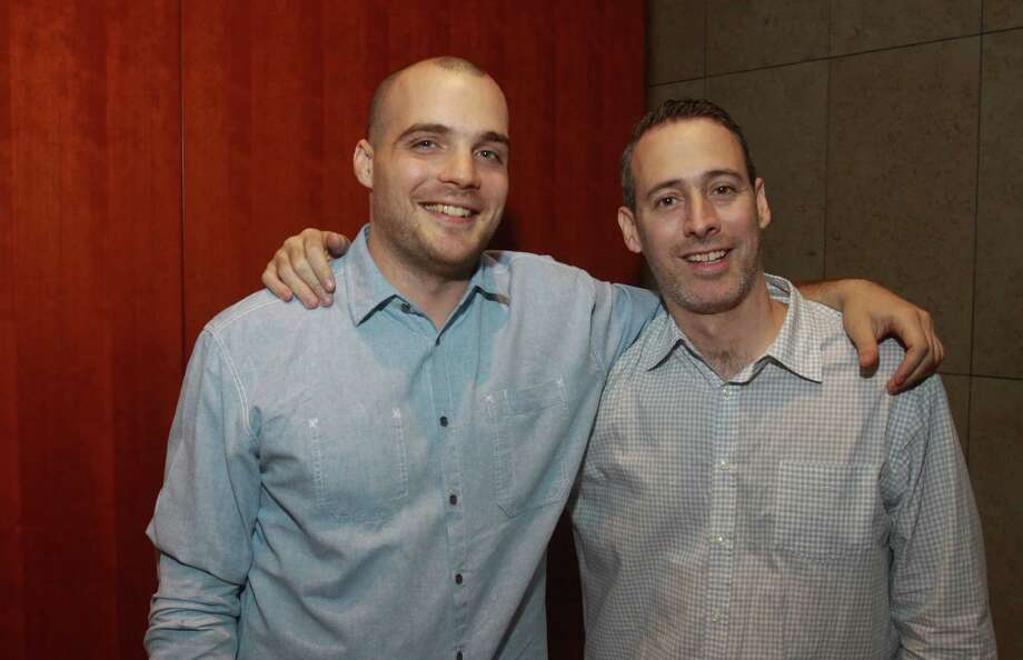 Max Fishko, left, and Jeffrey Wainhause Photo: Gary Fountain / Copyright 2012 Gary Fountain.