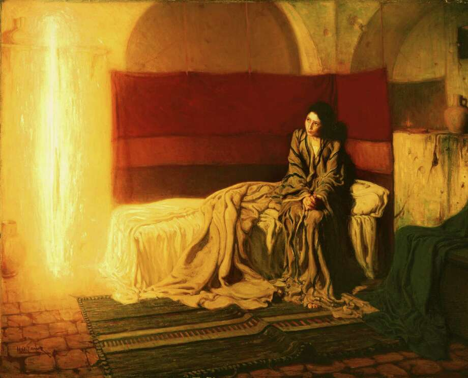 """The Annunciation"" by Henry Ossawa Tanner  Photo: Philadelphia Museum Of Art"