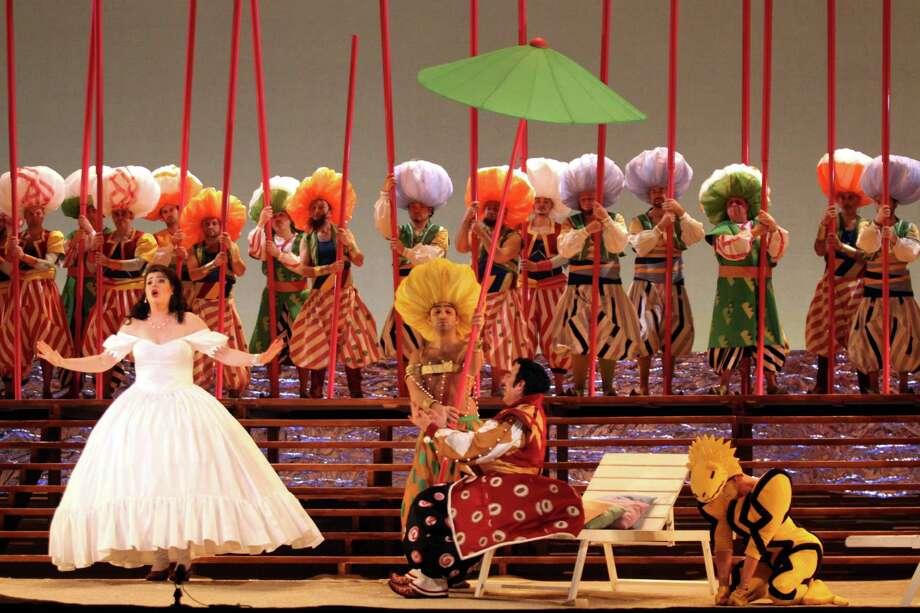 "Italian mezzo-soprano Daniela Barcellona takes the lead in Houston Grand Opera's production of  ""The Italian Girl in Algiers."" Photo: Ho"