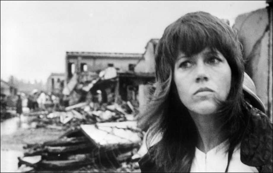"Jane Fonda starred in many iconic '60s movies, but won her first Oscar in 1971 for ""Klute."" She then began protesting the Vietnam War, visited Hanoi in 1972 (pictured) and didn't appear in a big movie again for several years.  Photo: STF, AFP/Getty Images / AFP"