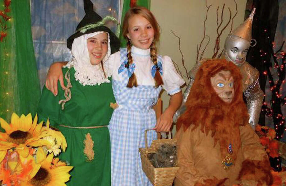 """Storybook characters like Dorothy and friends from the """"Wizard of Oz"""" will take up resdience in the Burr Mansion this weekend and next for annual """"Enchanted Castle"""" event for Halloween. Photo: File Photo / Fairfield Citizen"""