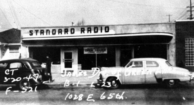 This picture of the old Standard Radio building was taken in March 1947. Photo: State Archives