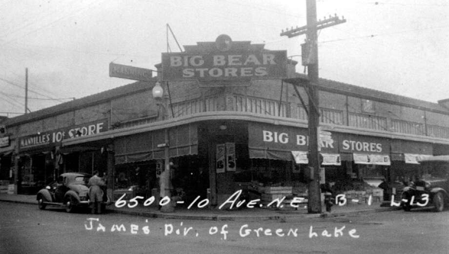 This picture was taken in 1937 when the building was home to a Big Bear store. Photo: State Archives