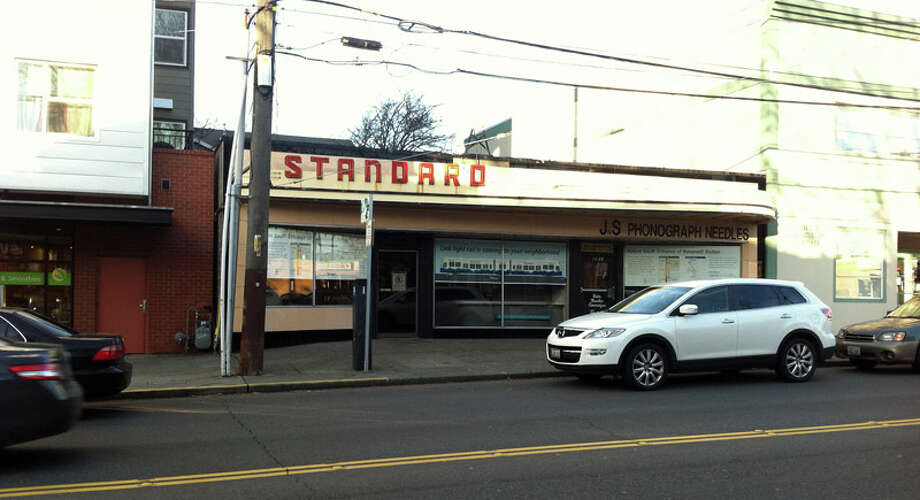 Here's the Standard building in January 2011. Photo: Casey McNerthney