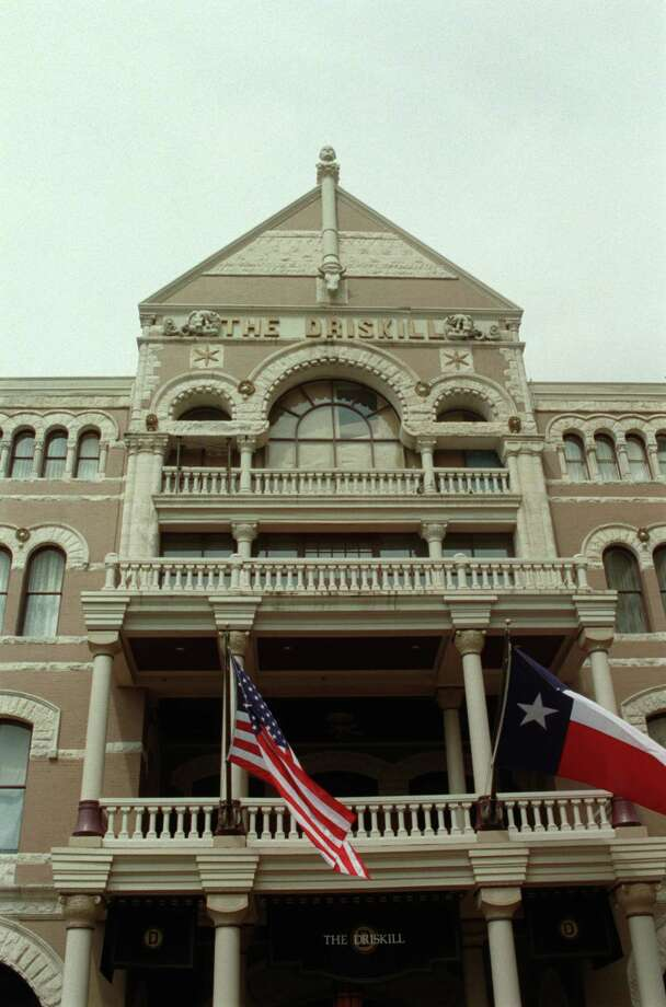 The Driskill Hotel in downtown Austin is  an old historical landmark. Photo: E. Joseph Deering, Houston Chronicle / Houston Chronicle