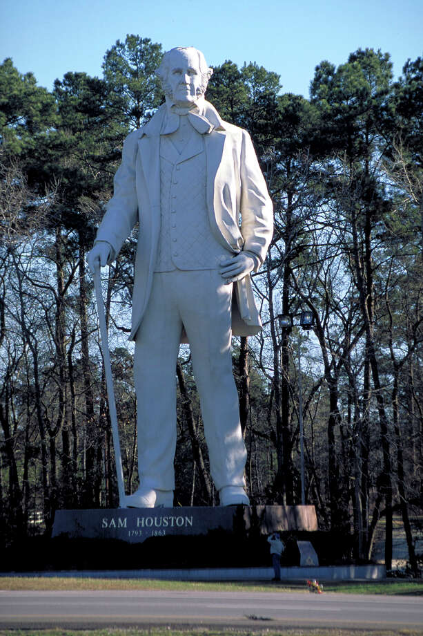 Sam Houston Statue in Huntsville can be seen from the highway and is a popular site for photo photo opportunities.  Photo: Earl Nottingham, Texas Parks & Wildlife / Earl Nottingham, TPWD