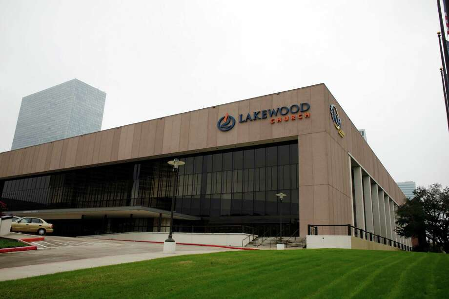 Houston's Lakewood Church was once the Compaq Center, which was home to the Rockets and Aeros.  Photo: Eric Kayne, For The Chronicle / Freelance