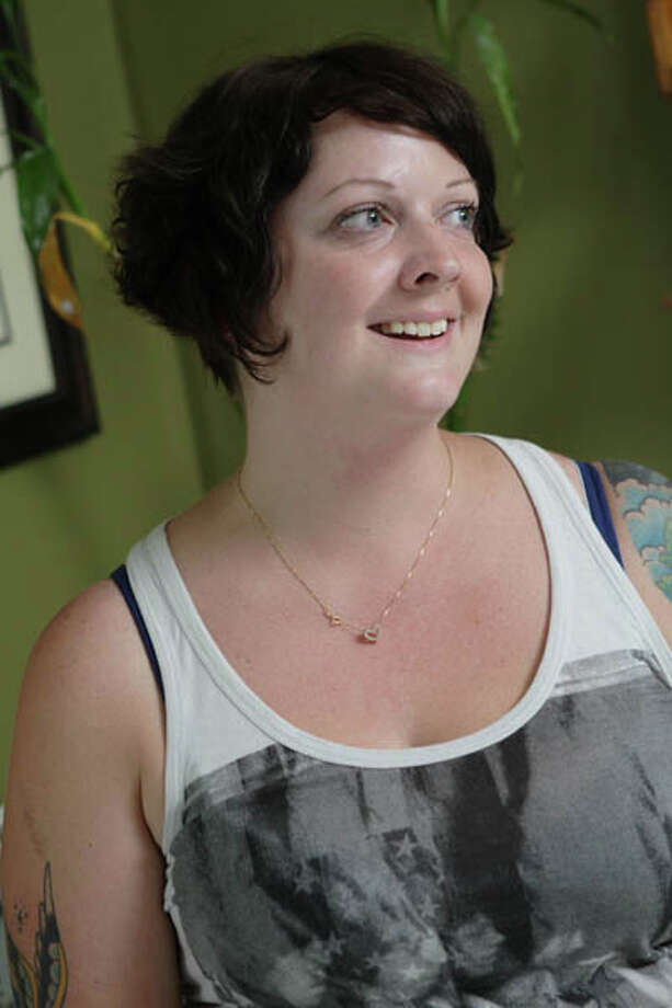 "Sarah Fish, of the Hungry Fish in Troy, says food is ""about your mind, your experiences, what matters to you."" Read the story here. Read the recipes here. Photo: Suzanne Kawola/Life@Home"