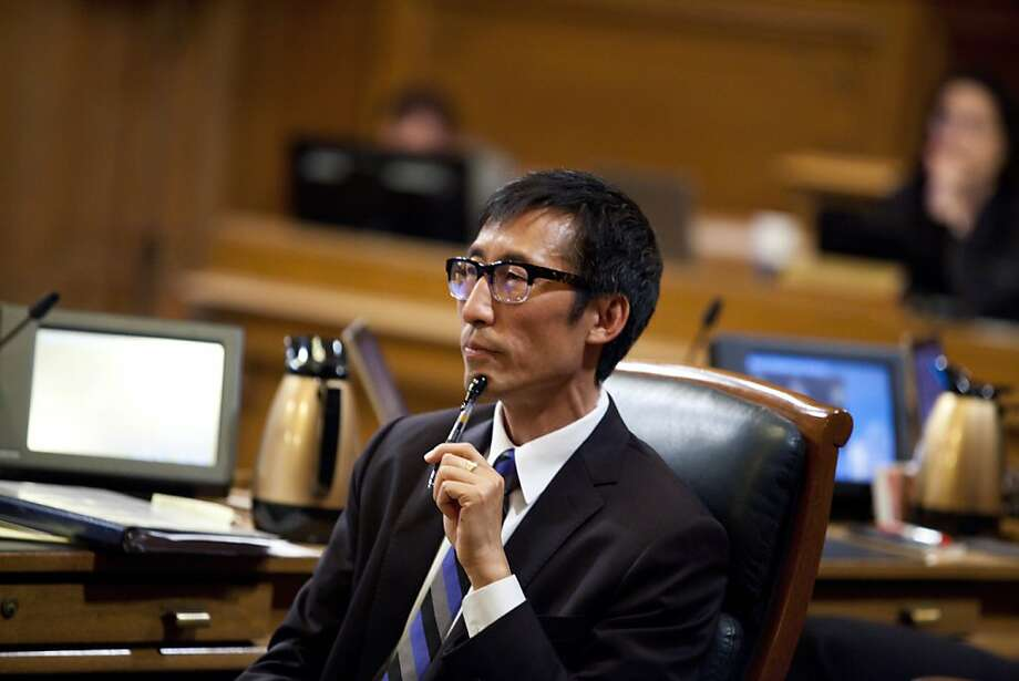 District One Supervisor Eric Mar achieved national notoriety for a law banning free toys in fast-food kids meals. Photo: Jason Henry, Special To The Chronicle