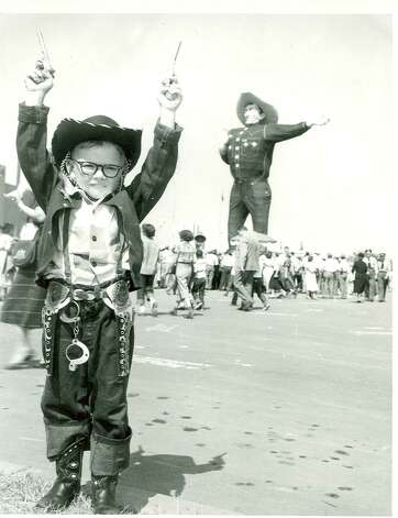 Big Tex is seen in an undated file photo provided  Friday Oct. 19, 2012, by the State Fair of Texas. Photo: Courtesy Photo, State Fair Of Texas / COURTESY OF THE STATE FAIR OF TEXAS