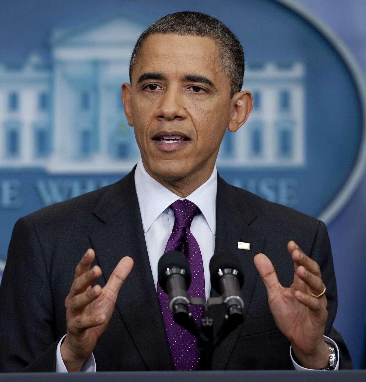 The Express-News Editorial Board endorses President Barack Obama.