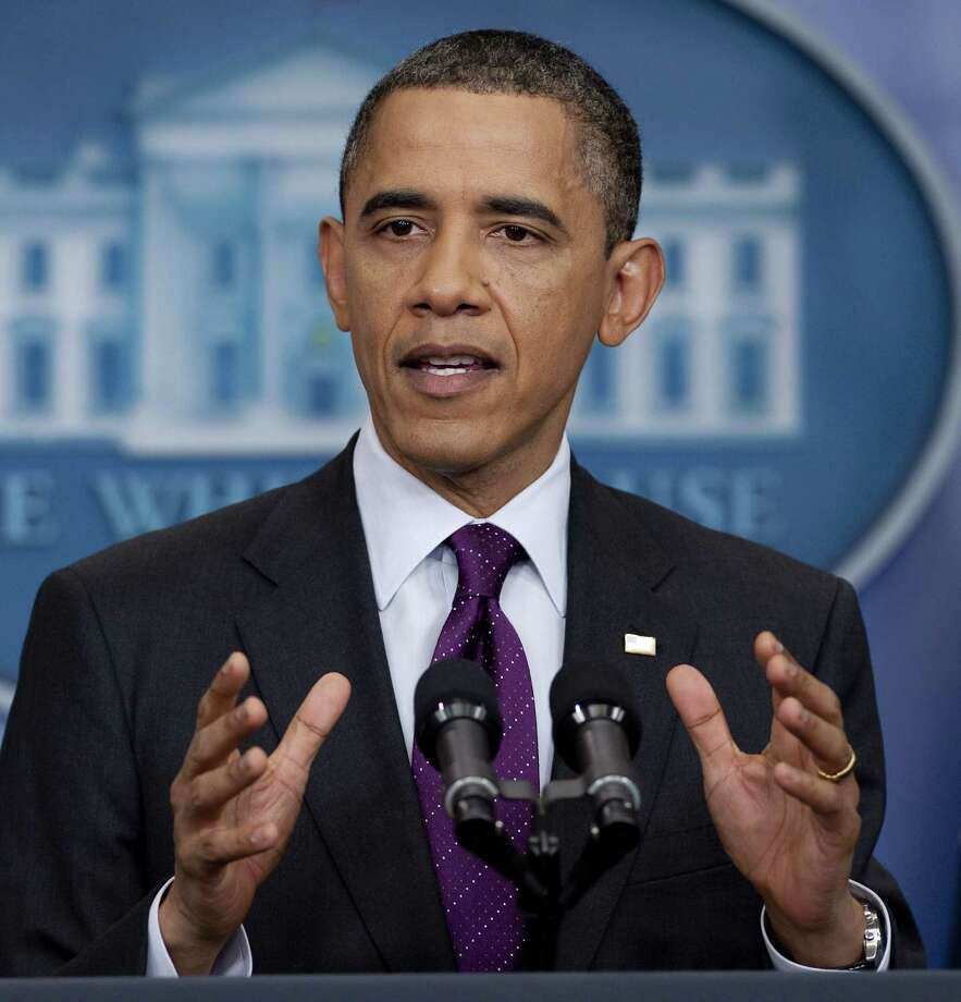 The Express-News Editorial Board endorses President Barack Obama. Photo: SAUL LOEB, AFP/Getty Images / AFP