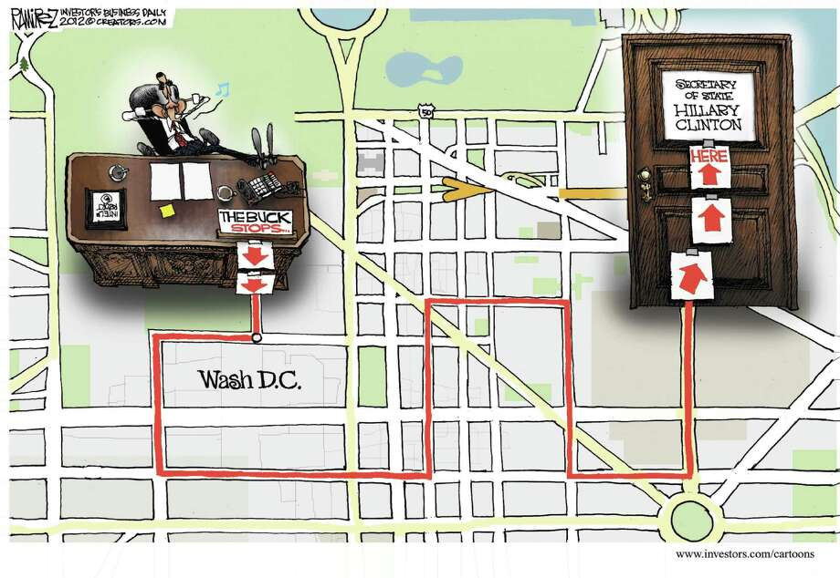 Editorial cartoon by Michael Ramirez from Investor's Business Daily.