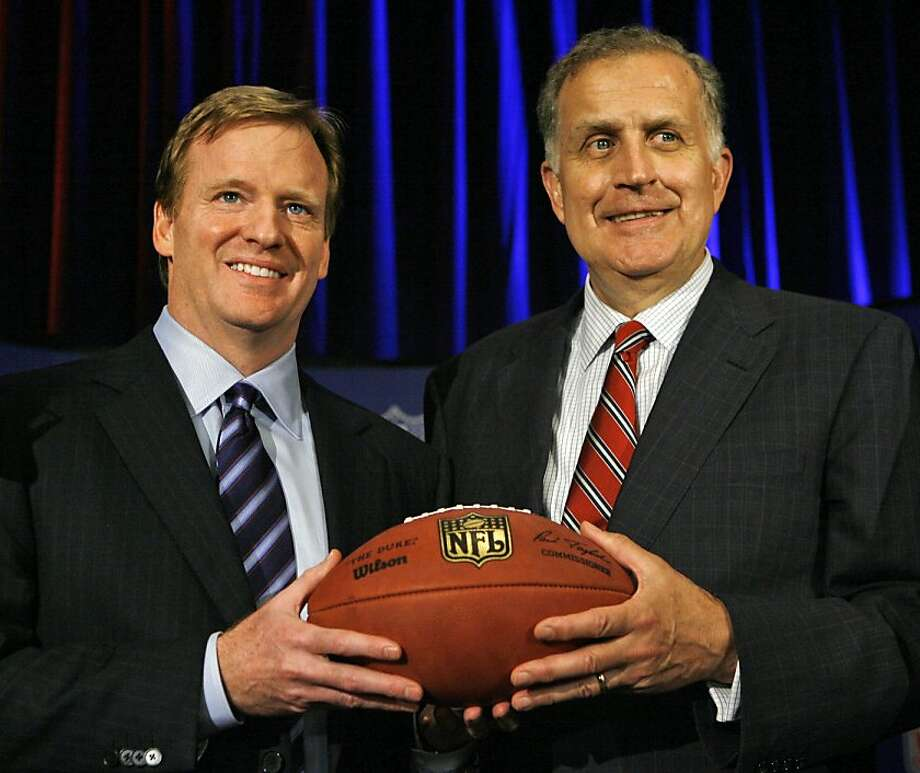 Paul Tagliabue was picked to hear appeals of four players suspended in the bounty case. Photo: M. Spencer Green, Associated Press