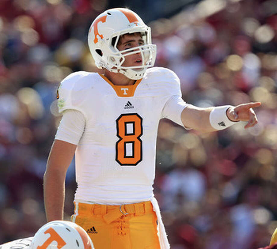Tennessee quarterback Tyler Bray. Photo: Streeter Lecka, Getty Images / 2010 Getty Images