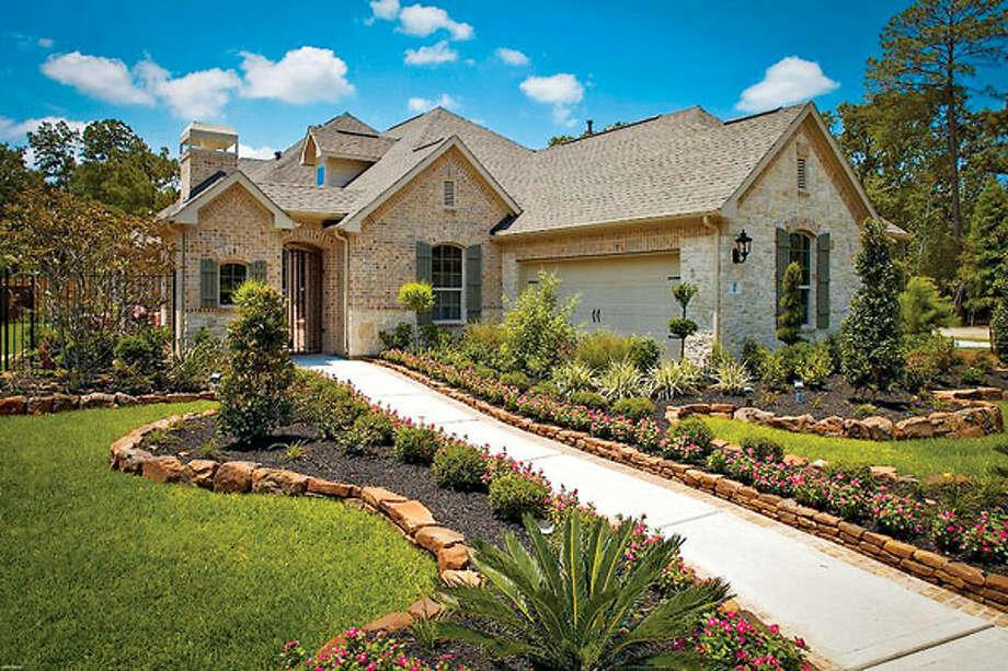 Coventry Homes Model Design 5863, The Winner Of The Houstonu0027s Best Award  For Best Patio