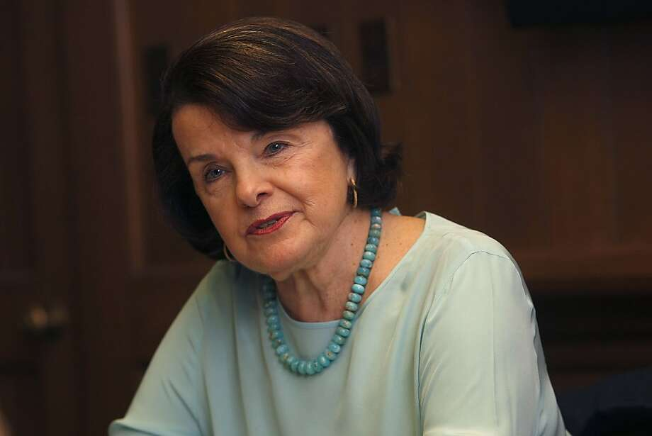 Sen. Dianne Feinstein, D-Calif., has remained a consistent leader from San Francisco to Washington, and she's earned the respect of Democrats and Republicans alike. Photo: Liz Hafalia, The Chronicle