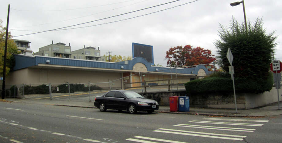 The QFC was closed in 2012 to eventually make way for the light-rail station. Photo: Casey McNerthney/seattlepi.com