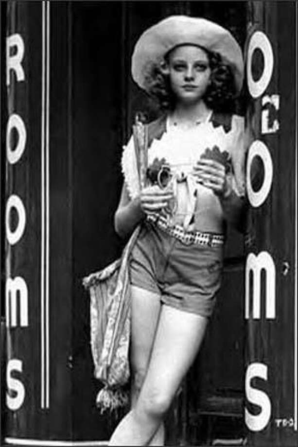 """Jodie Foster's first major role was playing a prostitute in the 1976 movie """"Taxi Driver,"""" when she was 13. She also starred in the creepy movie """"The Little Girl Who Lives Down the Lane"""" that year.  Photo: ."""