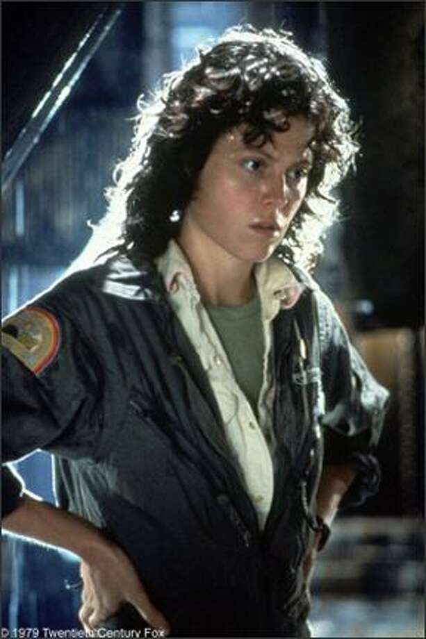 "Sigourney Weaverwas a relative unknown before getting the role of Ripley in 1979's ""Alien"" and bringing a new feminine swagger to the screen.  Photo: ."