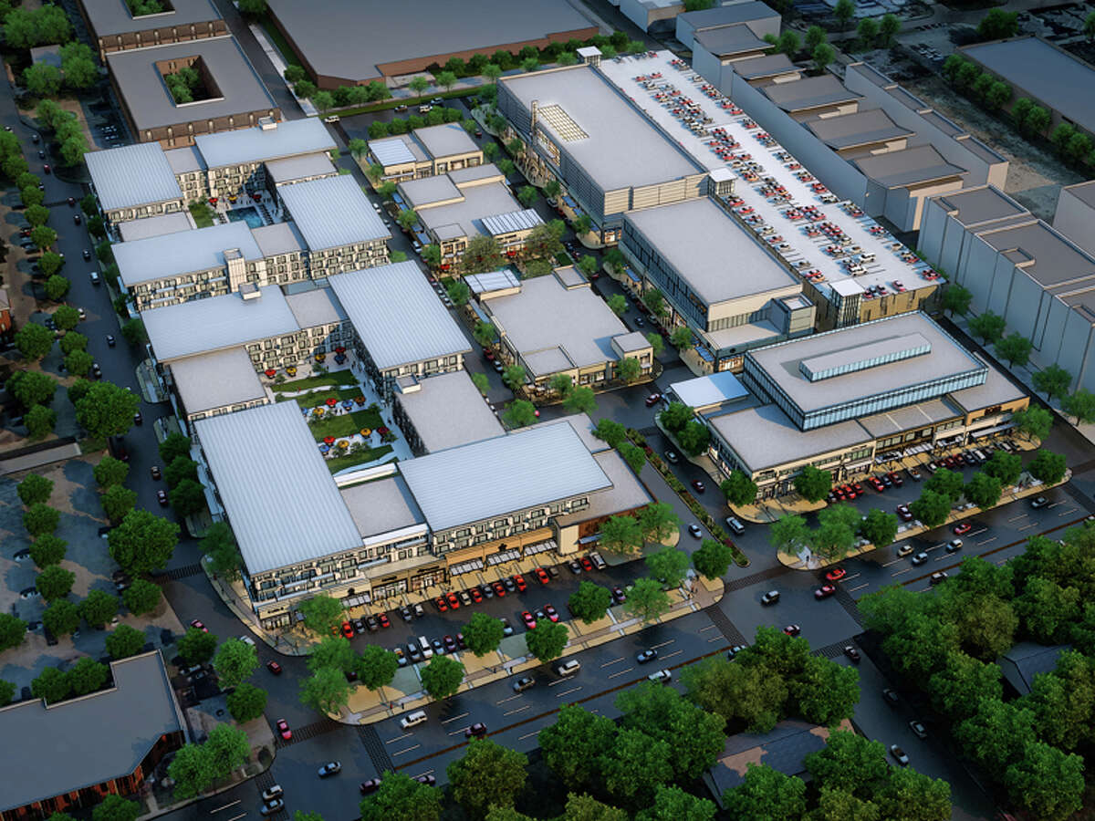 The project's plan indicates the revised complex is smaller than the original.