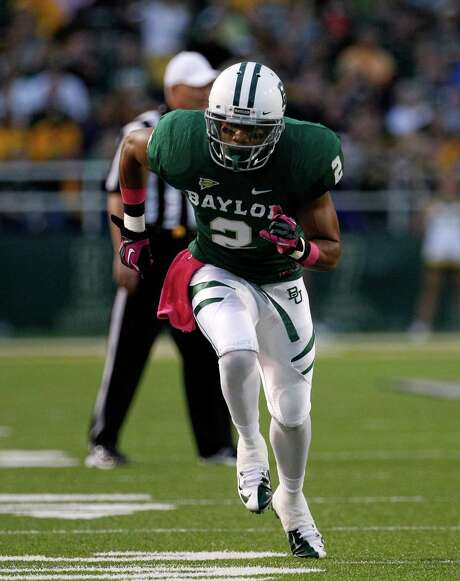 Baylor wide receiver Terrance Williams (2) runs a route in the first  half of an NCAA college football game against TCU Saturday, Oct. 13, 2012, in Waco, Texas. TCU defeated Baylor 49-21. AP Photo/Tony Gutierrez) Photo: Tony Gutierrez / AP