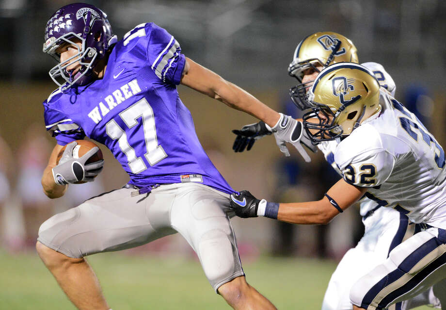 No. 20 Warren Warriors2016 Record: 5-6 Photo: JOHN ALBRIGHT, San Antonio Express-News / San Antonio Express-News