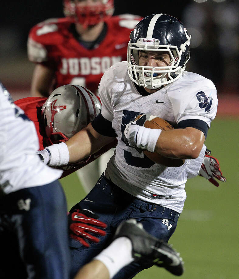Joey Bochat and the Smithson Valley Rangers can make a strong case to be called the area's top team, having won all seven of their games by 20 points or more. Photo: Tom Reel, Express-News / ©2012 San Antono Express-News