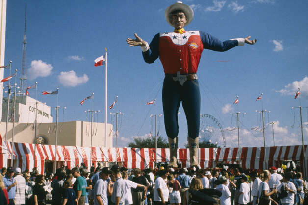 Big Tex welcomes visitors to the State Fair of Texas in Dallas. Photo: State Fair Of Texas, Courtesy Photo