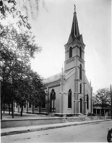 Undated historical photo of St. John's Lutheran Church. File photo
