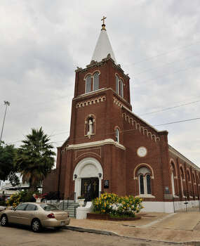 The Romanesque-style San Francesco di Paola Catholic Church was built in 1927 for the city's Italian Catholics. Read more. / SAN ANTONIO EXPRESS-NEWS