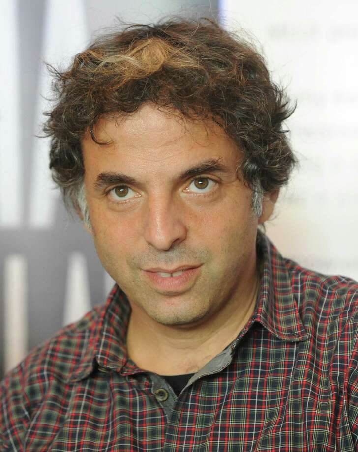 Israeli writer  Etgar Keret's new house was fitted in between two older buildings. Photo: Alik Keplicz, Associated Press / AP