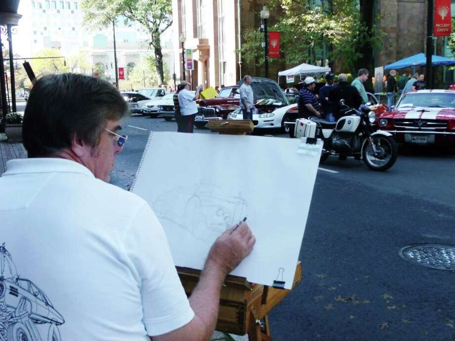 Were you seen downtown at the Bridgeport Car Show Saturday? 10/20/2012 Photo: Todd Tracy / Connecticut Post