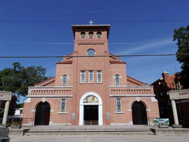 Our Lady of Guadalupe Catholic Church on El Paso Street continues to serve as a spiritual and