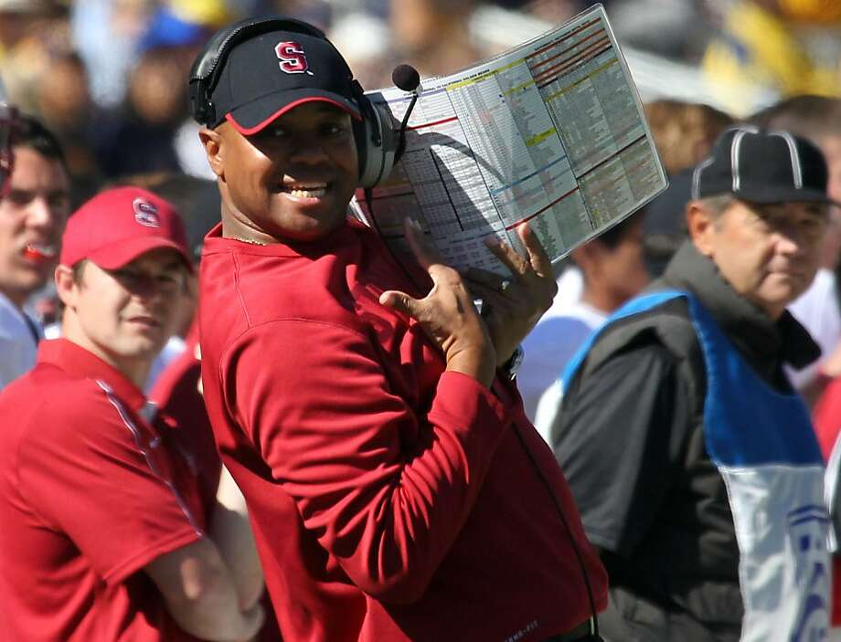 "David Shaw, who is 16-4 as Stanford's head coach, called Saturday's Big Game win a ""blueprint game."" Photo: Lance Iversen, The Chronicle"
