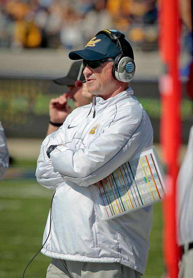 Cal's coach Jeff Tedford during the Stanford vs. Cal football game at Memorial Stadium in Berkeley, Calif.,  on Saturday, Oct.20th, 2012 Photo: John Storey, Special To The Chronicle