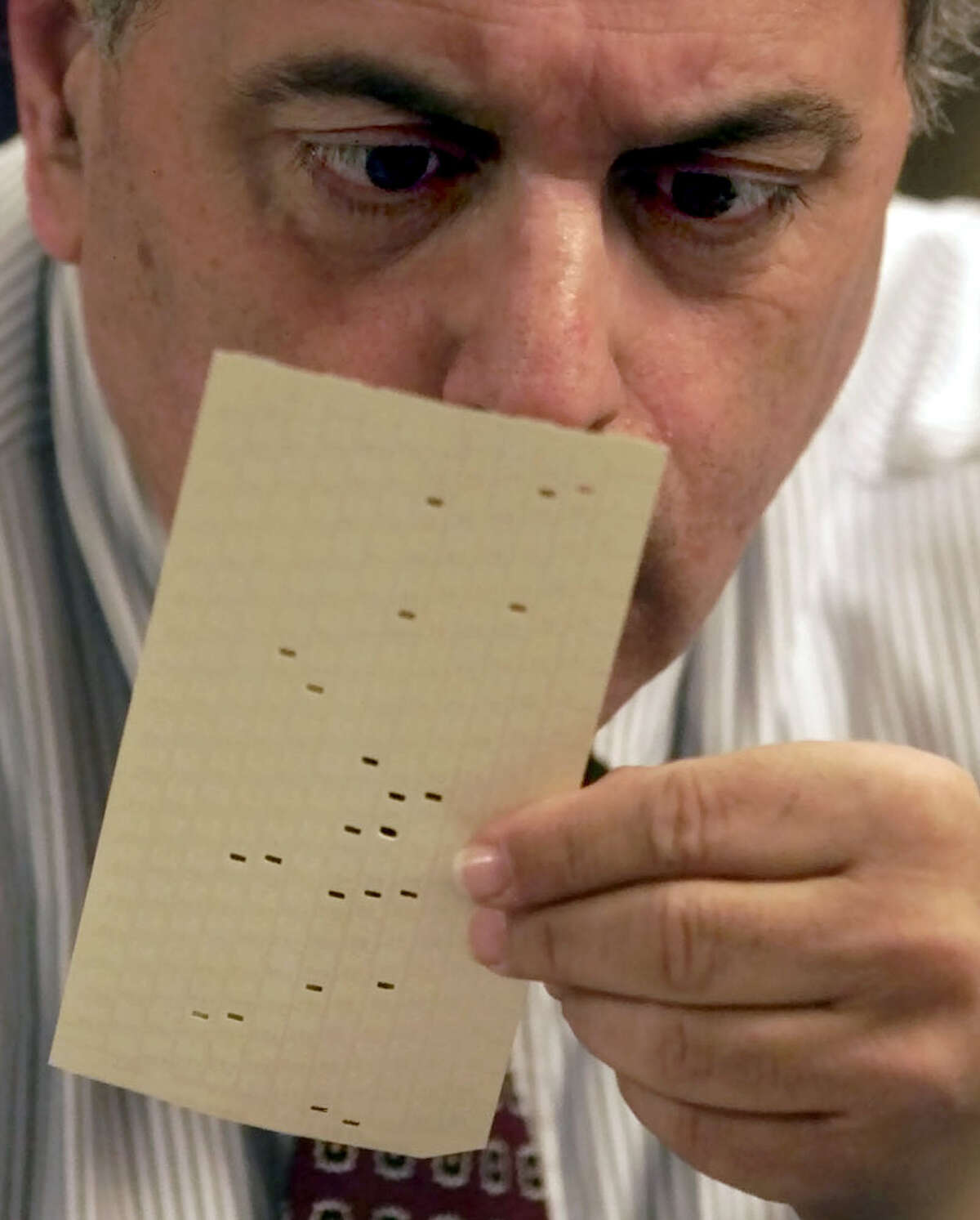In 2000, the hanging chad controversy helped tip the presidential election to George W. Bush. Some worry that a similar controversy could emerge this year.