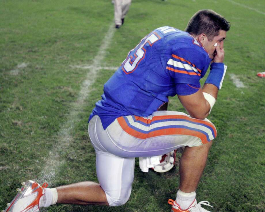 Most mentioned public figures No. 4 - Tim Tebow Photo: Bill Haber / AP